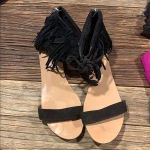 Steve Madden Fringe Sandals